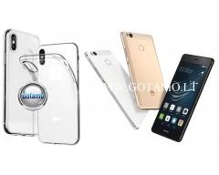 Skin silikoninis dėklas Huawei P9 Lite telefonams