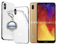 Skin silikoninis dėklas Huawei Y6 (2019) Huawei Honor 8A telefonams