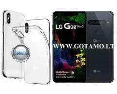 Skin silikoninis dėklas LG G8S ThinQ telefonams