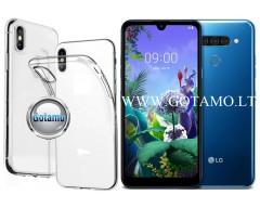 Skin silikoninis dėklas LG Q60 telefonams