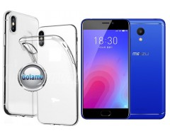 Skin silikoninis dėklas Meizu M6 telefonams