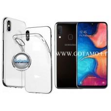 Skin silikoninis dėklas Samsung Galaxy A20e telefonams Vilnius | Palanga | Klaipėda