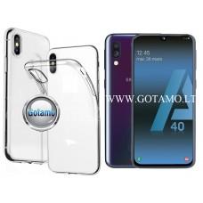 Skin silikoninis dėklas Samsung Galaxy A40 telefonams Kaunas | Šiauliai | Telšiai