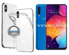 Skin silikoninis dėklas Samsung Galaxy A50 telefonams