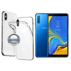 Skin silikoninis dėklas Samsung Galaxy A7 (2018) telefonams Telšiai | Kaunas | Šiauliai