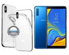 Skin silikoninis dėklas Samsung Galaxy A7 (2018) telefonams