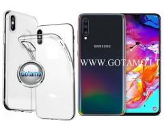 Skin silikoninis dėklas Samsung Galaxy A70 telefonams