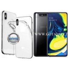Skin silikoninis dėklas Samsung Galaxy A80 telefonams