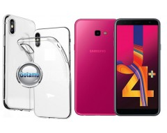 Skin silikoninis dėklas Samsung Galaxy J4+ (2018) telefonams