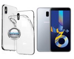 Skin silikoninis dėklas Samsung Galaxy J6+ (2018) telefonams