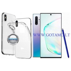 Skin silikoninis dėklas Samsung Galaxy Note 10+ telefonams Plungė | Vilnius | Kaunas