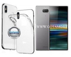Skin silikoninis dėklas Sony Xperia 10 Plus Sony Xperia XA3 Ultra telefonams