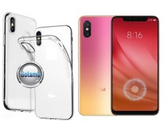 Skin silikoninis dėklas Xiaomi Mi 8 Lite, Xiaomi Mi 8X telefonams