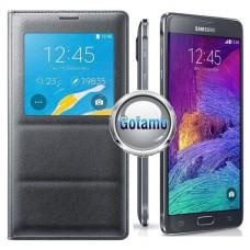 Supersede Leaf dėklas Samsung Galaxy Note 4 mobiliesiems telefonams grafito spalvos