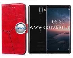 Turtle Dėklas Nokia 8 Sirocco mobiliesiems telefonams raudonos spalvos