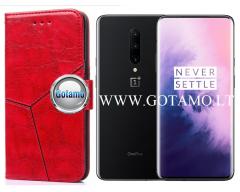 Turtle Dėklas OnePlus 7 Pro mobiliesiems telefonams raudonos spalvos