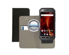 Universalus magnetinis dėklas Elevate mobiliesiems telefonams M dydis juodos spalvos