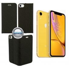 Vennus Diary magnetinis dėklas Apple iPhone XR telefonams Carbon juodos spalvos Telšiai | Šiauliai | Klaipėda