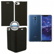 Vennus Diary magnetinis dėklas Huawei Mate 20 Lite telefonams Carbon juodos spalvos Kaunas | Klaipėda | Klaipėda
