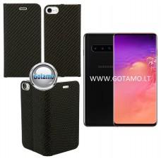 Vennus Diary magnetinis dėklas Samsung Galaxy S10 telefonams Carbon juodos spalvos Klaipėda | Klaipėda | Telšiai
