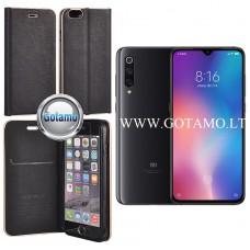 Vennus Diary magnetinis dėklas Xiaomi Mi 9 telefonams juodos spalvos Vilnius | Šiauliai | Klaipėda
