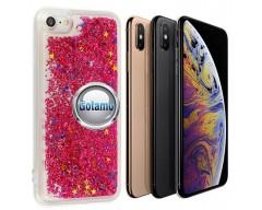 Waterfall dėklas nugarėlė Apple iPhone X Xs telefonams rožinės spalvos