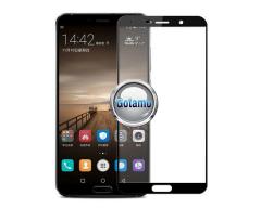 Apsauga ekranui gaubtas grūdintas stiklas Huawei Mate 10 Pro mobiliesiems telefonams juodos spalvos