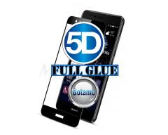 Apsauga ekranui gaubtas grūdintas stiklas Huawei P10 Lite mobiliesiems telefonams juodos spalvos 5D pilnas padengimas klijais