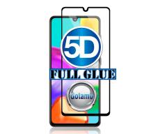 Apsauga ekranui gaubtas grūdintas stiklas Samsung Galaxy A41 mobiliesiems telefonams juodos spalvos 5D pilnas padengimas klijais