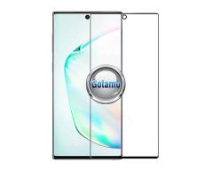 Apsauga ekranui gaubtas grūdintas stiklas Samsung Galaxy Note 10 mobiliesiems telefonams juodos spalvos