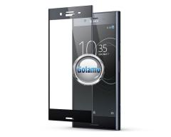 Apsauga ekranui gaubtas grūdintas stiklas Sony Xperia XZ Premium mobiliesiems telefonams juodos spalvos