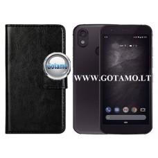 Diary Mate dėklas CAT S52 mobiliesiems telefonams juodos spalvos Vilnius | Klaipėda | Klaipėda