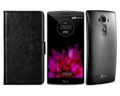 Diary Mate dėklas LG G Flex 2 mobiliesiems telefonams juodos spalvos
