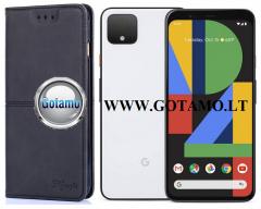H-Key magnetinis dėklas Google Pixel 4 telefonui juodos spalvos