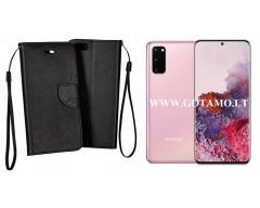 Manager dėklas Samsung Galaxy S20 mobiliesiems telefonams juodos spalvos