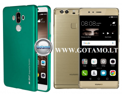 Mercury i-Jelly dėklas nugarėlė Huawei P9 Plus telefonui žalios spalvos