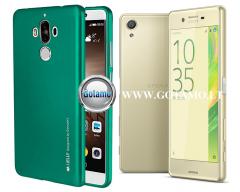 Mercury i-Jelly dėklas nugarėlė Sony Xperia X telefonui žalios spalvos