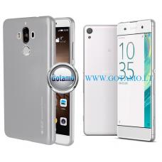 Mercury i-Jelly dėklas nugarėlė Sony Xperia XA telefonui sidabro spalvos