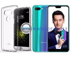 Mercury Jelly dėklas nugarėlė Huawei Honor 10 telefonui skaidrus