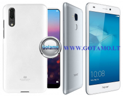 Mercury Jelly dėklas nugarėlė Huawei Honor 7 Lite telefonui baltos spalvos