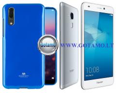 Mercury Jelly dėklas nugarėlė Huawei Honor 7 Lite telefonui mėlynos spalvos