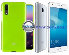 Mercury Jelly dėklas nugarėlė Huawei Honor 7 Lite telefonui salotinės spalvos
