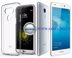 Mercury Jelly dėklas nugarėlė Huawei Honor 7 Lite telefonui skaidrus