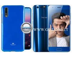 Mercury Jelly dėklas nugarėlė Huawei Honor 9 telefonui mėlynos spalvos