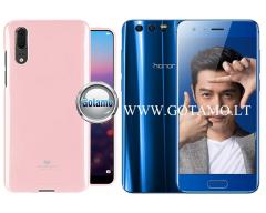 Mercury Jelly dėklas nugarėlė Huawei Honor 9 telefonui šviesiai rožinės spalvos