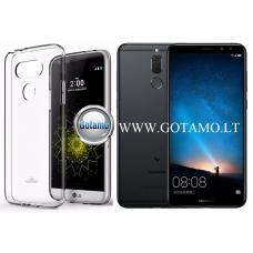 Mercury Jelly dėklas nugarėlė Huawei Mate 10 Lite telefonui skaidrus Klaipėda | Plungė | Klaipėda