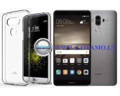 Mercury Jelly dėklas nugarėlė Huawei Mate 9 telefonui skaidrus