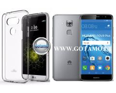 Mercury Jelly dėklas nugarėlė Huawei Nova Plus telefonui skaidrus