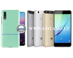 Mercury Jelly dėklas nugarėlė Huawei Nova telefonui mėtinės spalvos