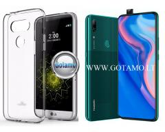 Mercury Jelly dėklas nugarėlė Huawei P Smart Z Huawei Y9 (2019) telefonui skaidrus